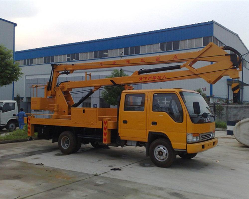 江淮折臂式14-16米高空作业车